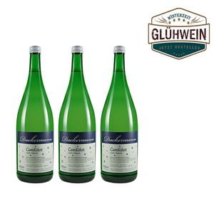 Glühwein Weiß Weingut Dackermann 'Candidus'  ( 3 x 1,0l)