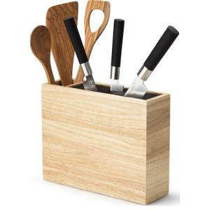 CONTINENTA Messerblock Messerhalter Utensilienbehälter Holz 3315