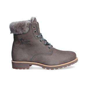Panama Jack 03 Igloo Damen Stiefel Grau Schuhe, Größe:38