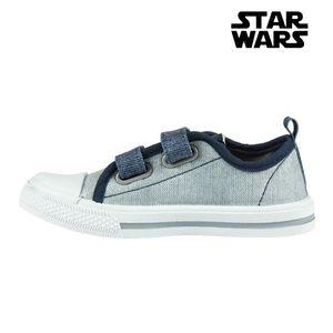Sneaker Jungen Leinenschuhe Klettschuhe Star Wars 73636 Fußgröße 27
