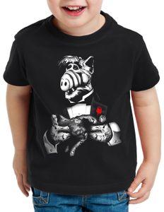 style3 Katzenliebhaber T-Shirt für Kinder alf melmac sitcom, Größe:152