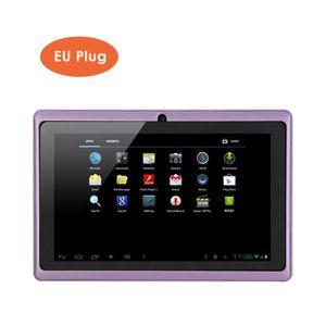 7 Zoll Kinder Tablet Android 4.4 Tablet PC mit Dual-Kameras 8 GB Quad Core WiFi Tablet PC Pad für Kinder【Lila】