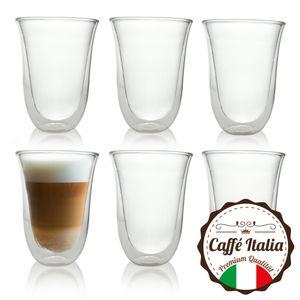 Caffé Italia Napoli 6 x 300 ml Doppelwand-Thermo-Gläser