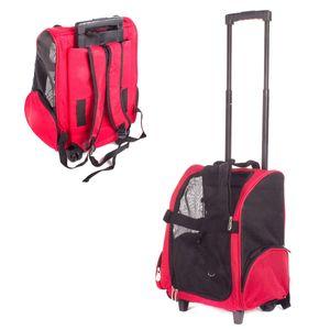Hundetrolley Transport Tasche Box für Hunde Trolley & Rucksack Transportbox