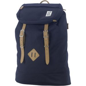 The Pack Society PREMIUM BACKPACK CLASSICS Solid Midnight Blue Rucksack