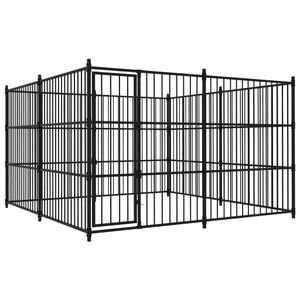 Perfekt® Outdoor Hundezwinger/Hundebedarf/Hundehütte/Hundekäfig/Hundehaus Ausläufe für Katzen,Hunde 300×300×185 cm🍹6527