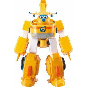 Super Wings transformierendes Fahrzeug Donnie gelb