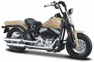 Maisto 34360-38 - Modellmotorrad - HD Serie 38, Modell:2008 FLSTSB Cross Bones