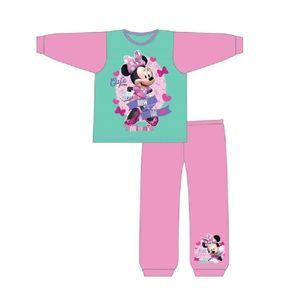 Minnie Mouse - Schlafanzug für Mädchen 384 (98) (Pink/Aquamarin)
