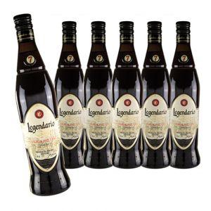 Rum LEGENDARIO Elixir de Cuba - 6er Sparpack