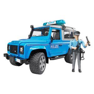 Bruder 02597 Land Rover Station Wagon Polizeifahrzeug