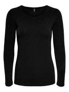Only Damen Langarmshirt 15204712 Black