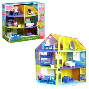 Character World Peppa Pig Peppas Familienhaus Spielset CW06384