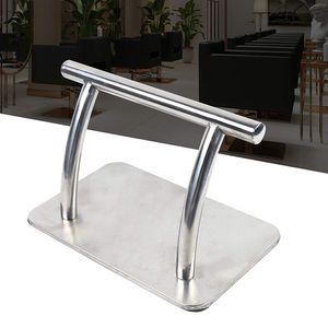 Friseurstuhl Pedal Edelstahl Fußstütze Fußablage  für Friseur Beauty Spa Nail Massage Salon 30x19x18cm