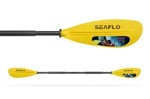 Seaflo Doppelpaddel, Kajakpaddel, Kanupaddel, Paddel für Kajak, Kanu, Boot, Ruder