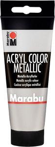 Marabu Acrylfarbe Acryl Color 100 ml silber 082