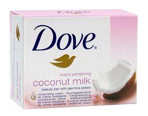 Dove coconut milk Seifen Körper Gesicht Feuchtigkeit weiche glatte Haut 500 g