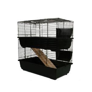 MyPets® Nagerkäfig TOWER CAGE 2-Stöckig Nagervoliere Hamsterkäfig Käfig Voliere Hamster
