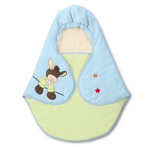 Sterntaler Babybettwäsche Einschlagdecke wattiert Emmi