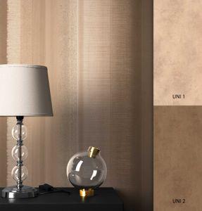 Streifentapete  Braun   Modern Landhaus  Streifen verwaschene Optik  Derek Muster
