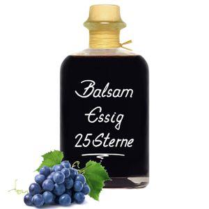 Balsam Essig 25 Sterne 1L fast sirupartig konzentriert und sehr mild 6% Säure