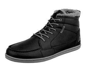 KAPPA Marken-Herren-Winterstiefel, schwarz Herren-/Kinder-Mode Größe: 40