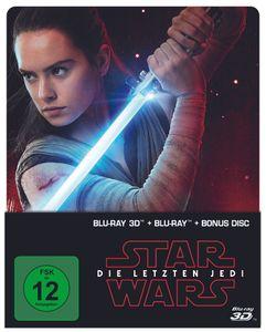 Blu-ray - Star Wars: Die Letzten Jedi (2D & 3D Steelbook Edition) (VÖ26.04.2018)