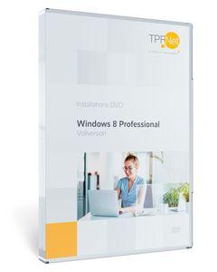 MS Windows 8.1 Pro 32 bit & 64 bit Vollversion - Original Aktivierungsschlüssel - bootfähige DVD + Anleitung von TPFNet®