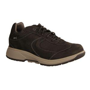 Xsensible Alaska Herren Halbschuh, Black, Leder/Textil, NEU, wasserdicht - Herrenschuhe Sneaker / Schnürschuh, Schwarz, leder/textil (wasserdicht)