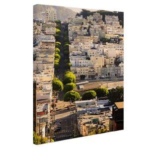 Leinwand Bilder - 20x30 cm - San Francisco Hills  - Modernes Wandbilder - Amerikanische Städte