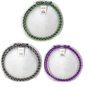 USG Halsring Größenverstellbar , Farbe:grün / schwarz