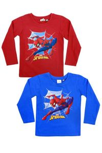 Marvel Spiderman langarm T-Shirt Blau 92-98