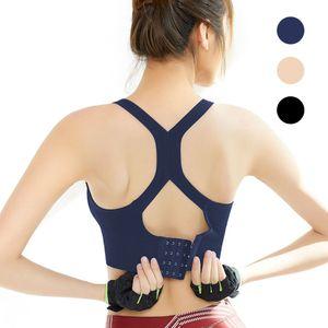 Frauen Wirefree Padded Yoga Sport BH Activewear Tops für Yoga Gym Workout Fitness Laufen (XL)