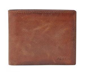 FOSSIL Derrick Large Pocket Bifold Brown