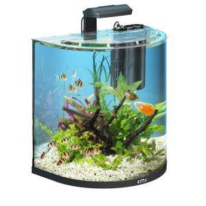 Tetra Aquaart Explorer Line Aquarium Komplett-Set 60 Liter Anthrazit (