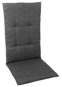 GO-DE Textil, Sesselauflage hoch, uni anthra, 15802-01
