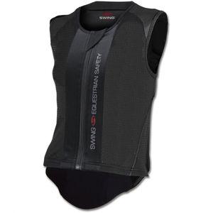 SWING Rückenprotektor P06 flexible, Kinder schwarz, KXL