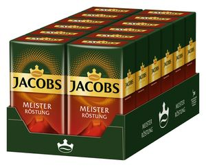 JACOBS Meisterröstung Filterkaffee 12 x 500 g Kaffee gemahlen