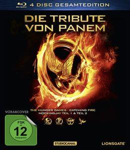 Lawrence,Jennifer/Hutcherson,Josh - Tribute Von Panem,Die/Gesamtedition - Blu-ray Boxen