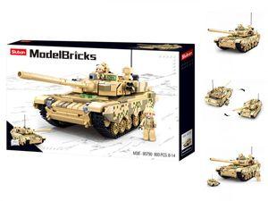 Kampfpanzer2in1 893 Teile M38-B0790 - Sluban Army