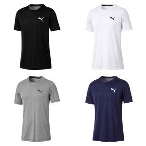 PUMA Active Herren T-Shirt Schwarz, Größe:M