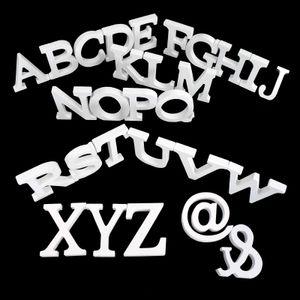 3D Holzbuchstabe 8 cm, weiß, Buchstaben & Zeichen:T