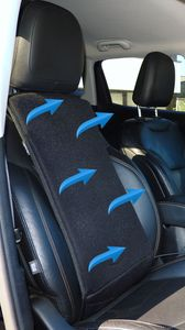 kühlende Klima Auto Sitzauflage 12V Gebläse Kühlung Belüftung Sitz Rückenkühler