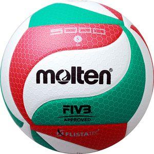 MOLTEN EUROPE VOLLEYBALL FLISTATEC weiß/rot/grün 5