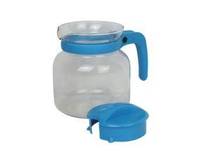 Glaskanne Teekanne Kaffeekanne 1 Liter Mikrowellengeeignet