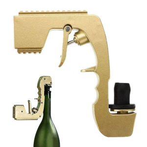 Champagner-Squirt Gun Sprayer EU-Patente Weinspender  Alkohol-Schusspistole kompatibel mit 350-750-ml-Champagnerflasche Legierung(E)