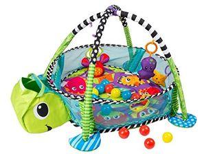 Schildkröte Erlebnisdecke, Bällebad, Spielbogen, Spieldecke, Lernmatte COIL