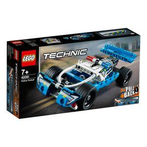 LEGO® Technic Polizei-Verfolgungsjagd, 42091
