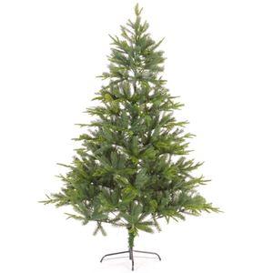 Raburg künstlicher Weihnachtsbaum, 210 cm, natürliche Optik durch Spritzguss Technik, für den Innenbereich geeignet, mit einem festem und stabilem Metallfuß geliefert