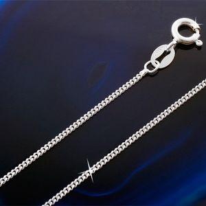 Panzerkette: Silberkette Kette 925 Silber, Länge:40 cm